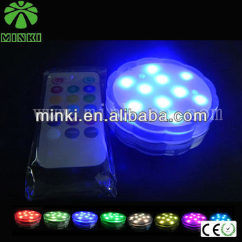 waterproof remote lights battery operated