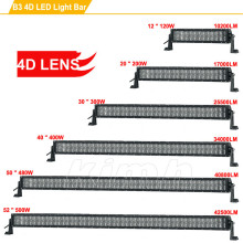 500W straight wholesale 4x4 4D 52 inch led light bar offroad light bar