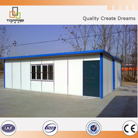 Construction building modular prefab poultry house, low price farm home
