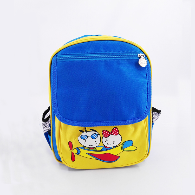 OEM Wholesale Waterproof polyester Outdoor Sport School cartoon Backpack in Elementary School Book Bags