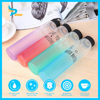 2016 Glass Sport Bottle Water Private Label for Frosted Glass Water Bottle