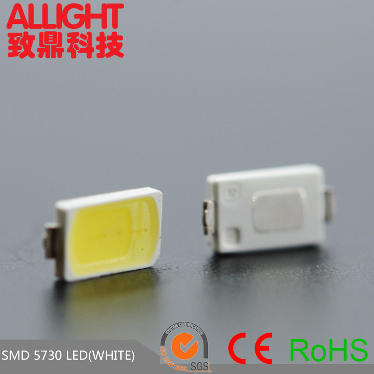 Dongguan factory production 0.5W smd 5730 led