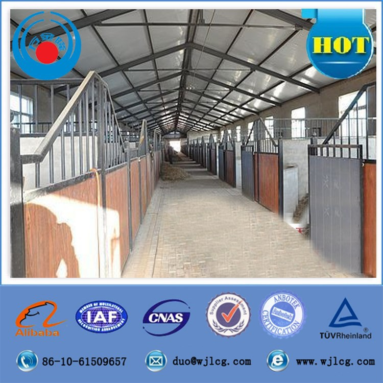 china steel structure building prefab poultry house horse stables cow shed