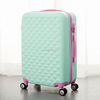 diamond series ABS and PC trolley hard plastic cabine luggage
