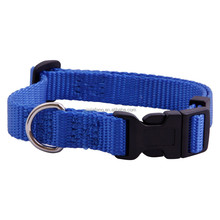 Plastic Buckle Nylon webbing pet Dog Training Collars