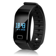 On sale fitness sports bracelet blood pressure smart watch sleep tracking system bluetooth vibrating wrist band