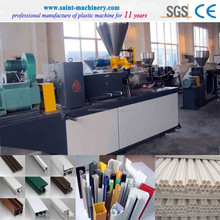 pvc upvc window profile extrusion/making/manufacturing machine