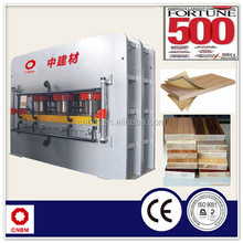 Particle Board MDF Hot Press Melamine Laminating Machine