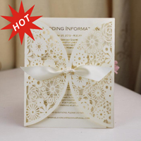 2015 Hot Sale Royal Butterfly Scroll Wedding Invitation Card, Butterfly Wedding Invitation Card, Roll Wedding Invitation Card