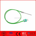 Type K MI Thermocouple, 3mm dia, 50mm long, 0.6m lead with mini plug