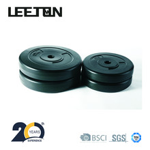 Eco-Friendly Black&Colourful Plastic Weight Plate