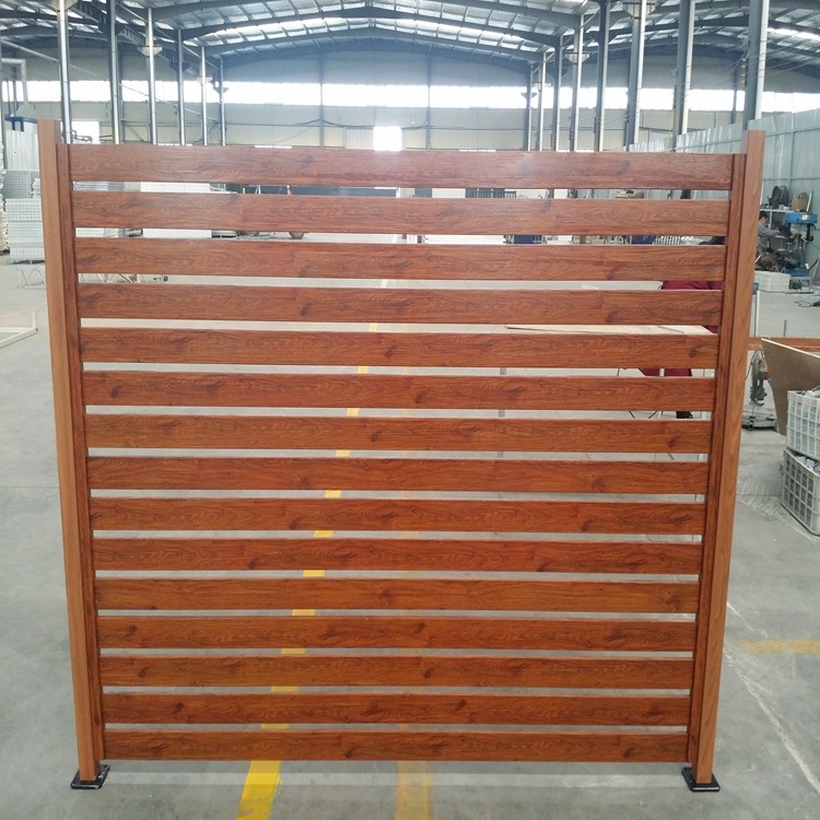 2017 new arrival fence parts with aluminum pool fence