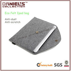 Simple case for ipad/felt case for ipad mini fashion