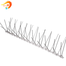 plastic anti bird spikes on roof tops fabrication