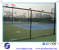 Guangzhou factory football field PVC-coated chain link fence