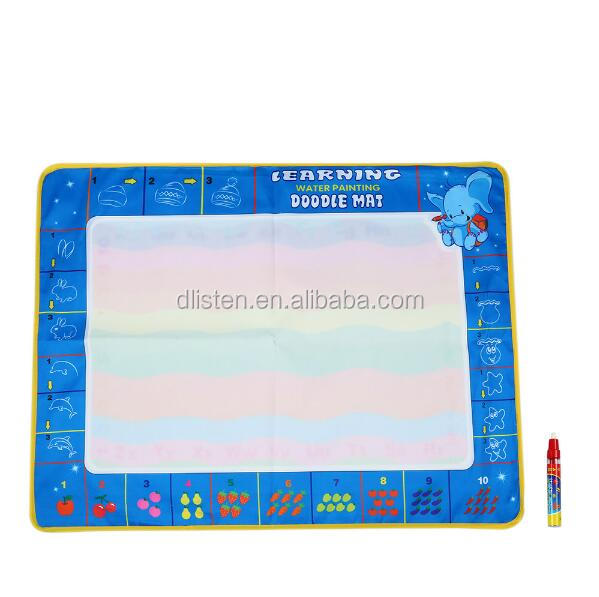 80 * 60 CM Drawing Board Water Drawing Mat With Magic Pen Board Painting and Writing Doodle for Baby Kids Drawing Toys