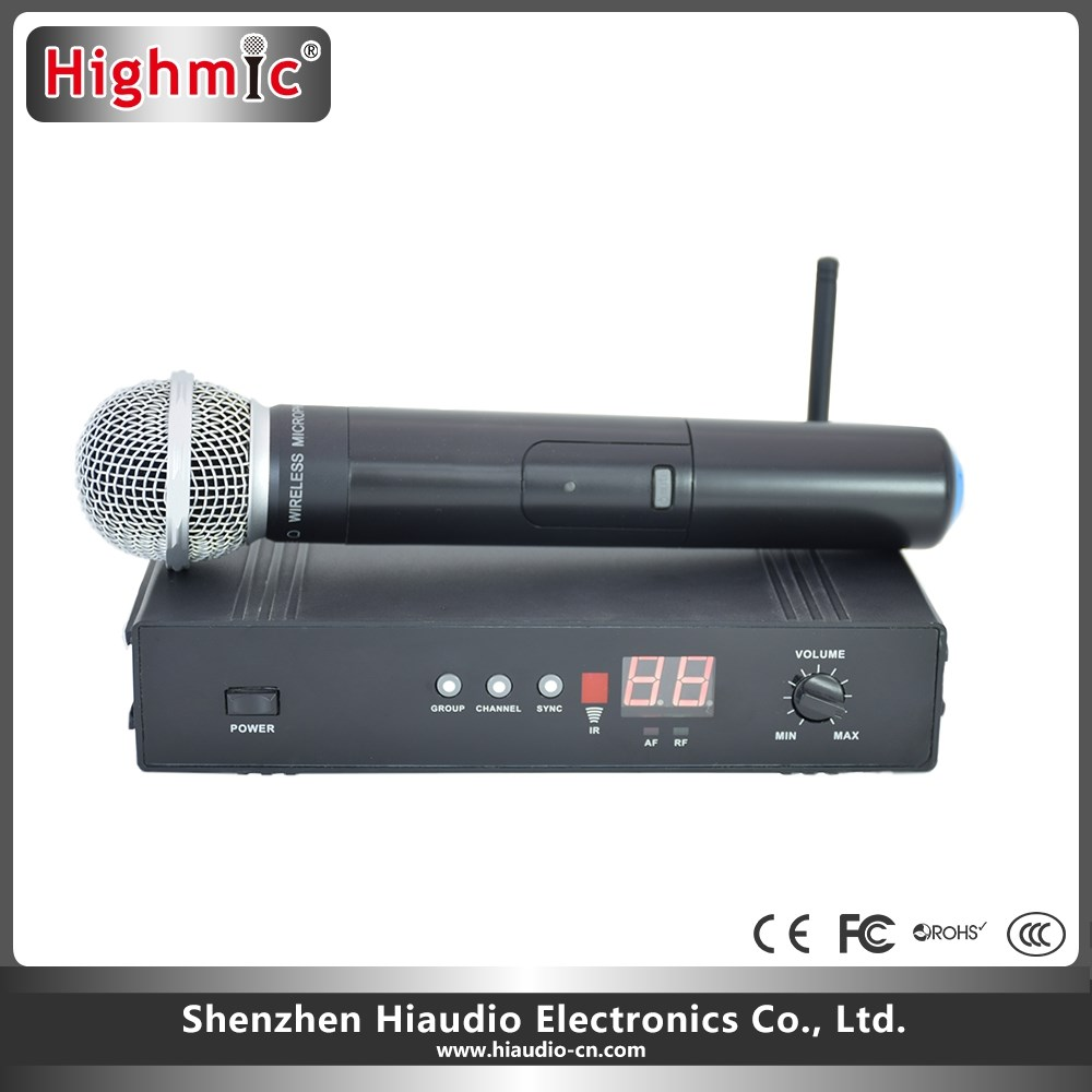 Nice Looking Mini Wireless Microphone For Teachers Highmic UHF6100