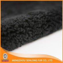 China online stores wholesale curly lamb fur for slippers