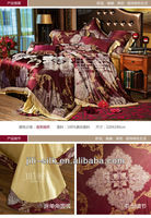 Elegant lace bed linens