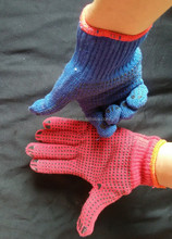 supplier of gloves price &pvc dotted gloves innovative design and affordable