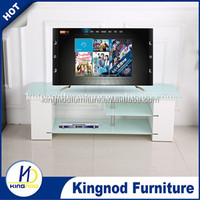 Selected material new design wood wall tv unit