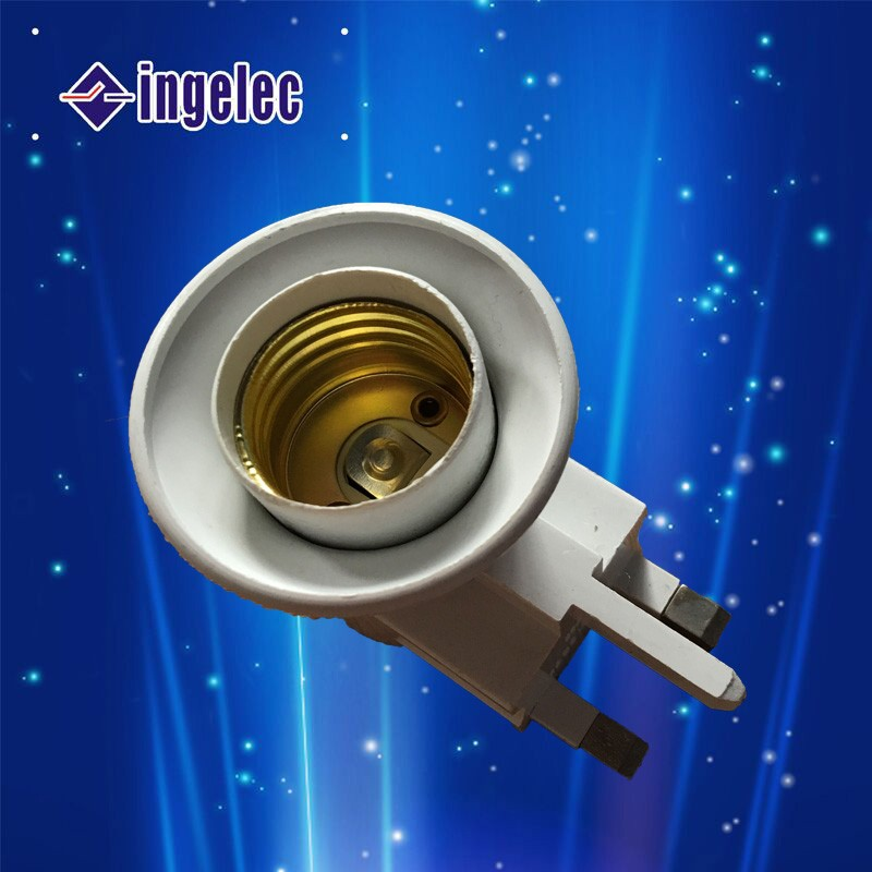 YiWu No.1 13 amp electic bulb holder flat pin plug with bulb holder
