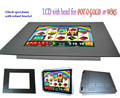gaming monitor, pot o gold WMS game board monitor with metal bezel ,GAMING, SLOT machine, kiosk , vending.