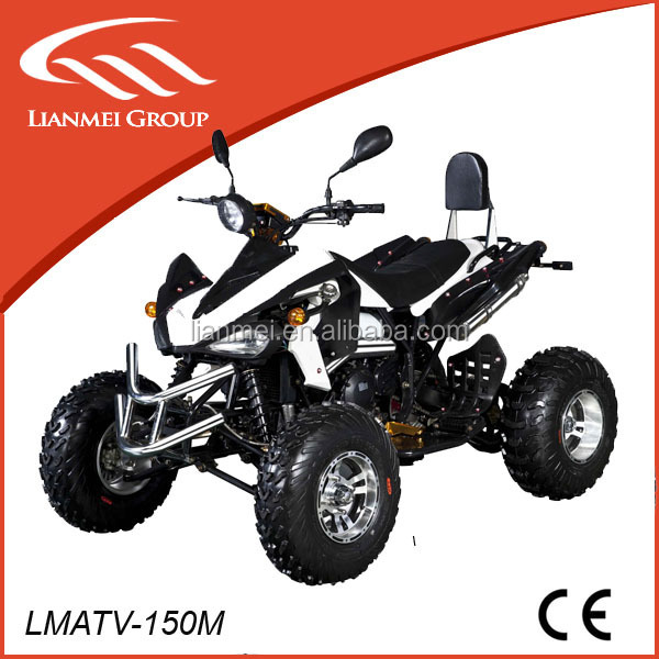 chinese sports 150cc atv quad with reverse gear wholesale