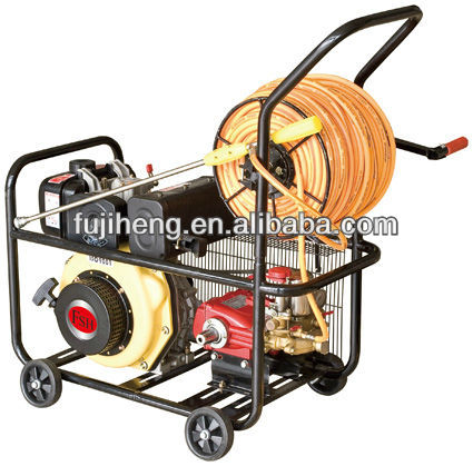 Sprayer machine for agriculture and garden use, 5hp-7.5ho power, gasoline and diesel engine for optional