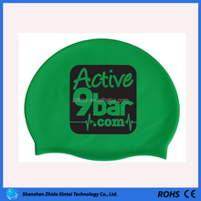 2015 best selling silicone custom swim cap for swiming wear