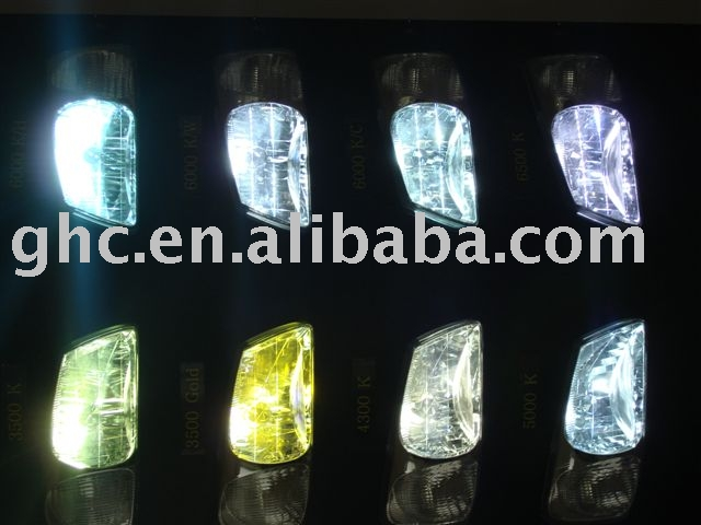 high quality taiwan made HID xenon lamp 4300k -8000k