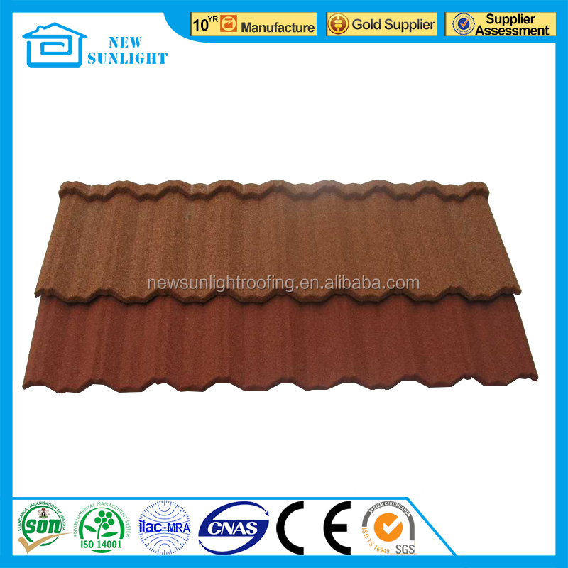 lightweight material roofing colorful steel roofing tile