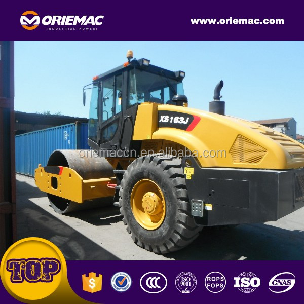 New Design Single Vibratory Hydraulic Small Road <strong>Roller</strong> 16Ton XP163J