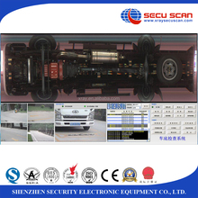 Under vehicle inspection system, under car scanning system