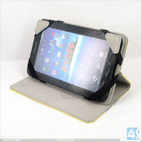 Folio Stand Flag Pattern Rotatable Universal Leather Case for 7 inch Tablet PC P-UNI7TABCASE013