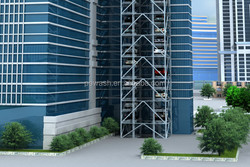 PE-PTK Multi Layers Tower Parking System, Tower Park System, Car Park System