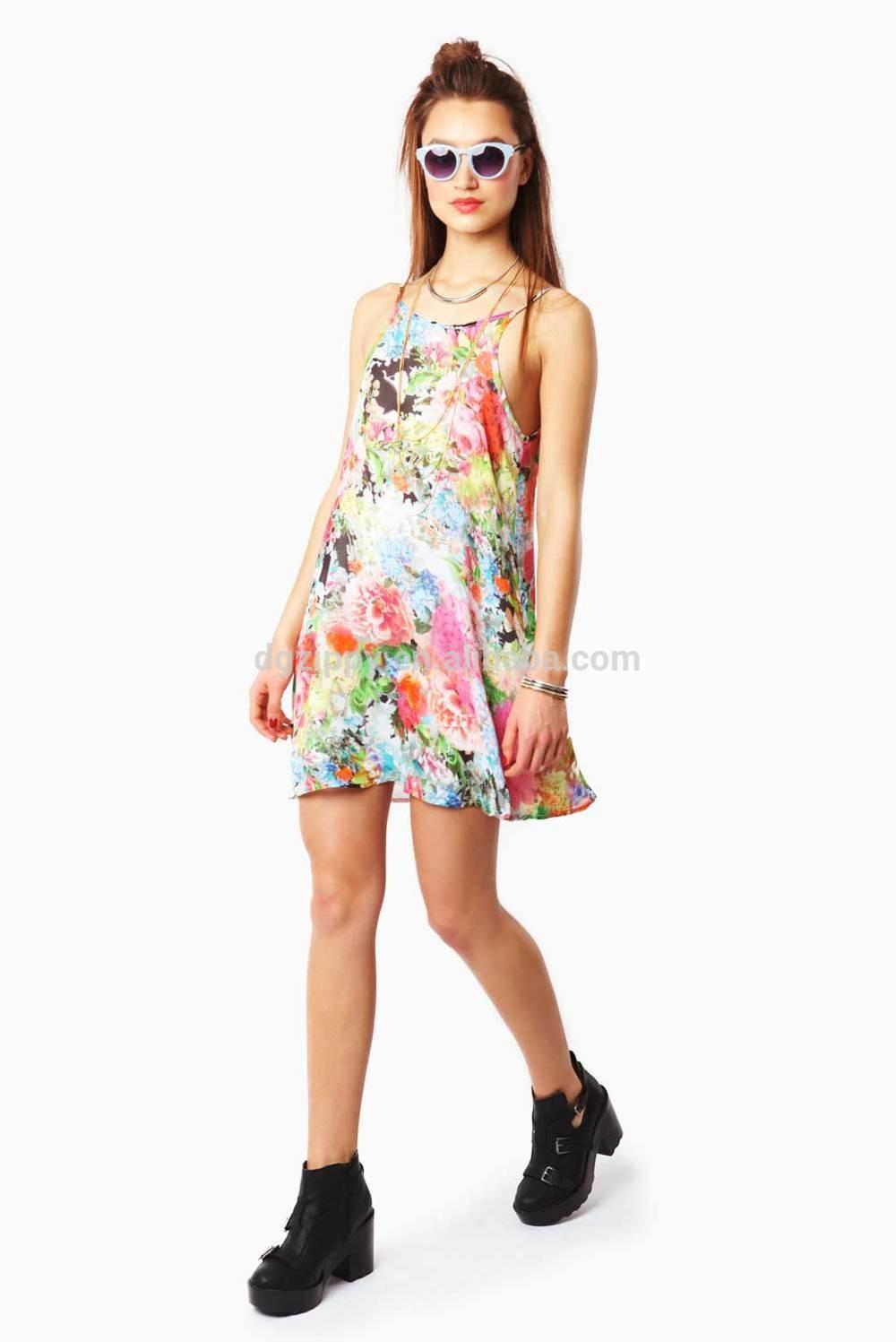 Wholesale Ladies Summer Casual Printed Maxican Fashion ...