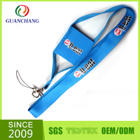 wholesale mobile cell phone holder accessorie with polyester lanyard