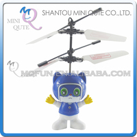 Mini Qute LED RC remote control flying Helicopter cartoon Blue Cat model plastic doll kids Electronic toys NO.CK820A-6