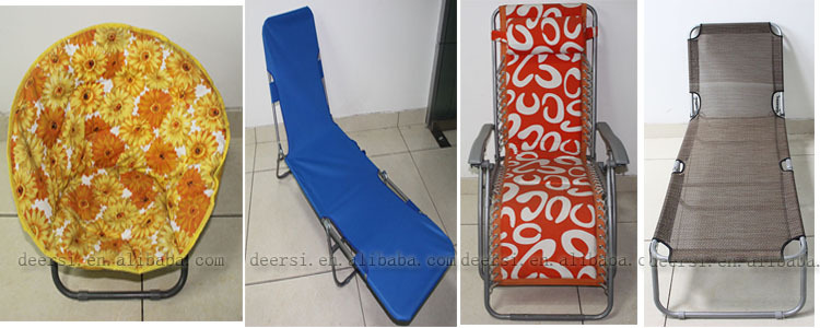 Textiles fabric cotton camping chair, beach chair