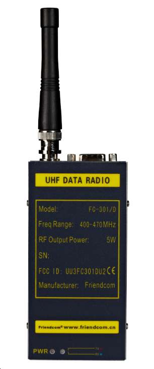 433,458,470MHz transceiver of FC-301D UHF