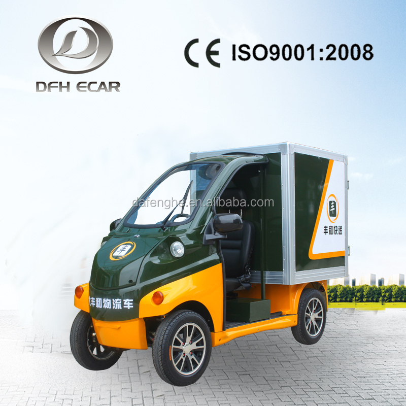 Electric cart rear cargo box car CE approved delivery cargo