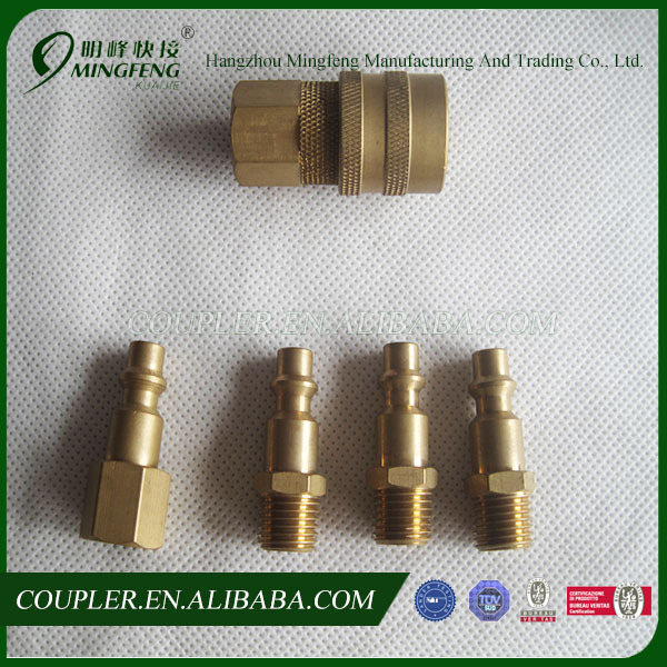 American high quality brass snap on hose fittings
