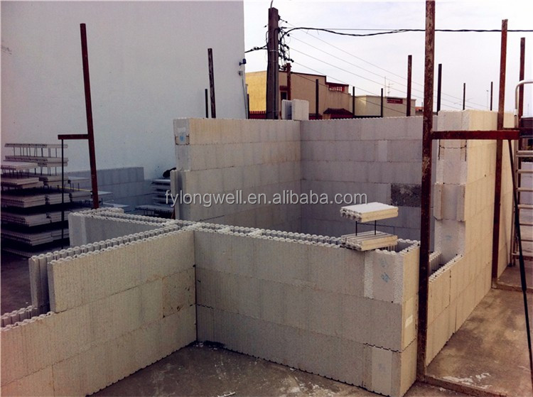 Hot sale automatic eps machine produce block icf building for Icf blocks for sale