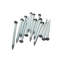 Carbon steel galvanized concrete nail with groove shank