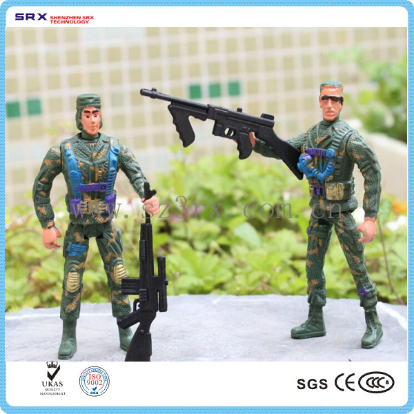 Customized knight soldier action figurer collection toy, plastic military soldier toys oem, plastic toy army soldiers wholesale