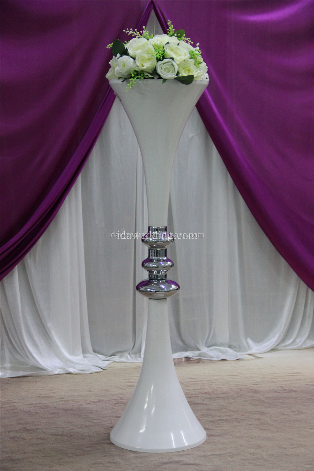 Detachable wedding decoration materials wedding vases for Buy wedding centerpieces