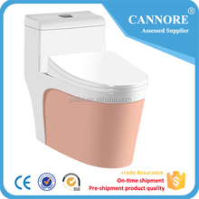 Standard toilet ceramic bathroom sanitary ware color toilet