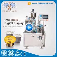 Automatic rotary k cup Ristretto coffee capsule filling machine