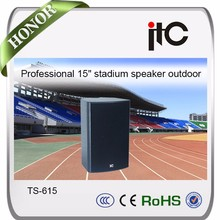 ITC prx615m professional speaker 15 inch powered,outdoor rock speakers 250w